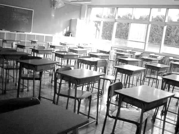 学校の教室 クラス 放課後