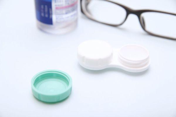 コンタクトレンズ 洗浄液 メガネ
