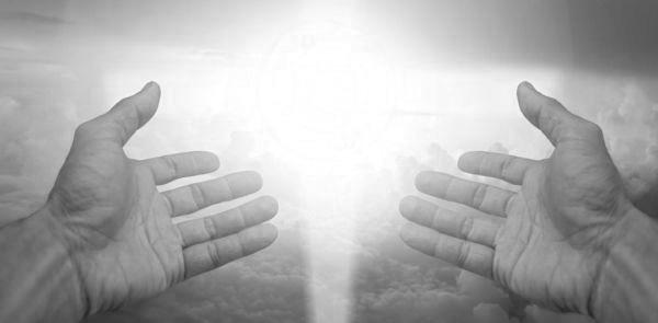 光 手 信頼 神 祈る 祈り魂 能力 学び