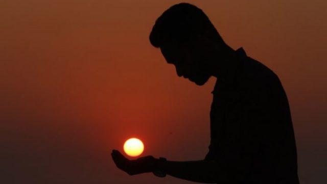 男心 脈あり 夕日 光