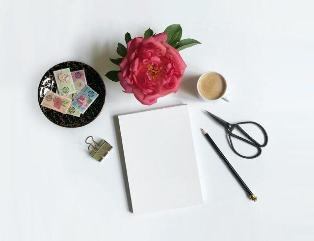 手紙 便箋 ペン メッセージ