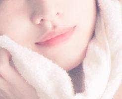 女性 タオル 拭く ニキビ
